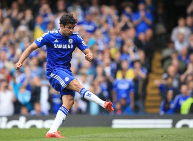 Chelsea's Diego Costa is widely perceived as one of the riskier Fantasy picks this season.