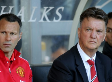 Louis van Gaal and co are set for a trip to Belgium.