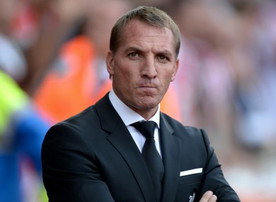 Brendan Rodgers' Liverpool take on West Ham this weekend.