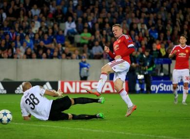 What drought  Rooney treble seals Champions League return · The42 63eaf4846
