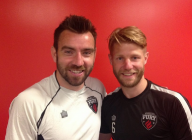 Colin Falvey and Richie Ryan are having a fantastic season with Ottawa Fury.