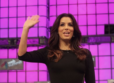 Eva Longoria (actress, not a minister) at last year's summit.