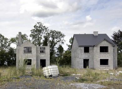 A ghost estate in Co Leitrim