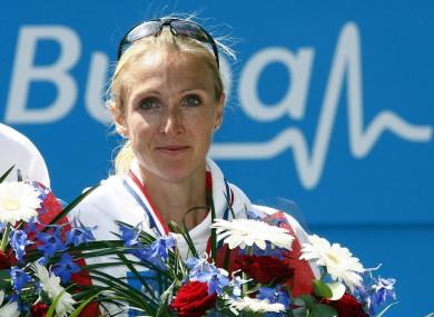 Radcliffe is the women's marathon world record holder.