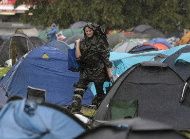Packing Up After Electric Picnic Heres How To Donate Your Tent