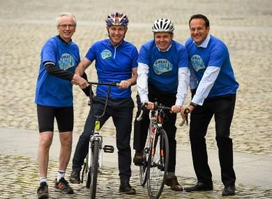 John Treacy, Ray D'Arcy, Pascal Donohue and Leo Varadkar will all be on their bike. Will you?