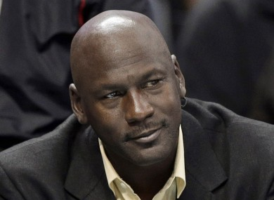 Only two athletes made more money than MJ last year.