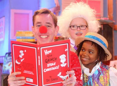 Ryan Tubridy appearing on the Toy Show last year