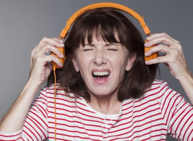 30 seconds in, Mary realised that listening to Slipknot's 'Before I Forget' at full volume wasn't exactly the best idea.