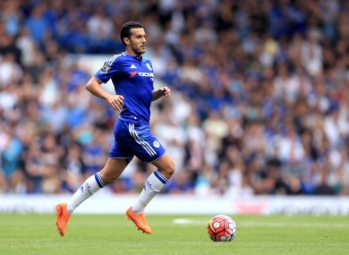 Pedro joined Chelsea for £21m.