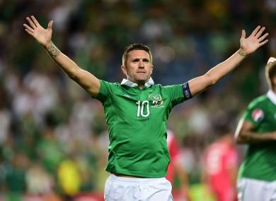 Robbie Keane claimed a brace tonight.