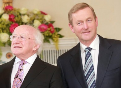 Enda Kenny will need to have a word with Micheal D Higgins before the election is called.