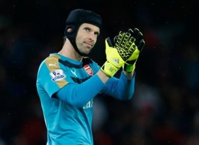 Ex-Chelsea keeper Cech.
