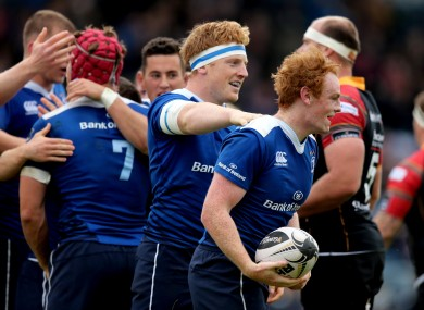Cathal Marsh and James Tracy are just two of Leinster's youngsters to play during the World Cup.