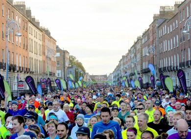Thousands of runners will take to the streets on Monday.