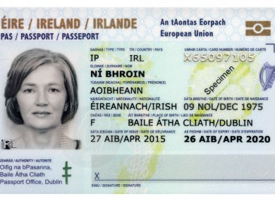 Check Out Ireland S Swanky New Passport Card 183 Thejournal Ie