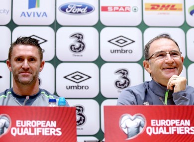 Keane and O'Neill take questions today.