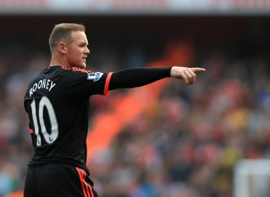 Rooney has won nine major honours over the course of his career.