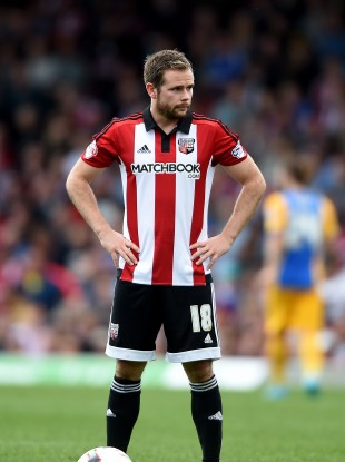Alan Judge has been in fine form for Brentford this season.