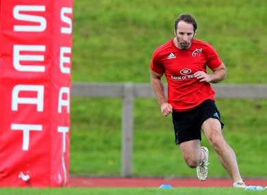 O'Leary: Left Munster for London Irish in the summer of 2012.