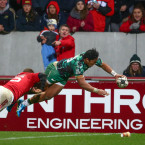 Bundee Jump! Aki finishes in style for a famous Connacht win at Thomond Park.<span class=