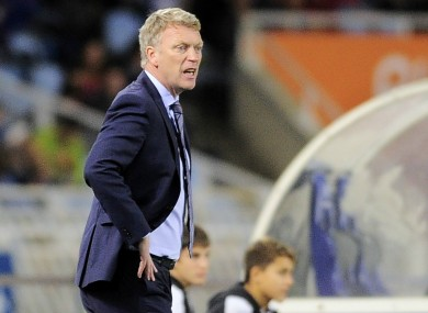 David Moyes as Real Sociedad coach