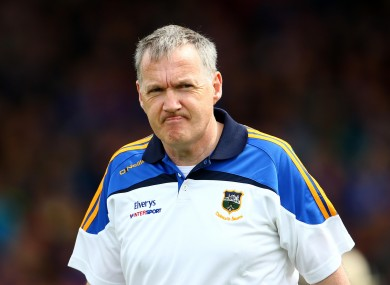 Eamon O'Shea's style of play will remain a hallmark of the Tipperary team.