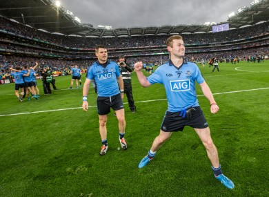 Dublin's Footballer of the Year Jack McCaffrey has been named in the Ireland squad.