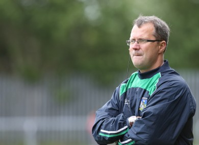 Limerick senior football manager John Brudair is looking after two club sides today.