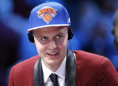 Kristaps Porzingis' arrival was initially met with scepticism by Knicks fans.