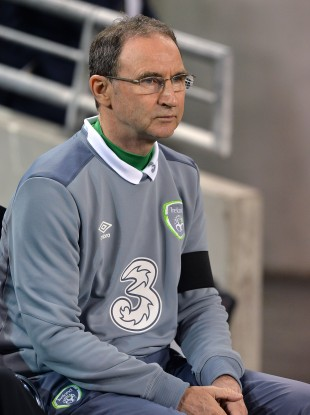 Ireland manager Martin O'Neill during the UEFA Euro 2016 Qualifying Playoff second leg.