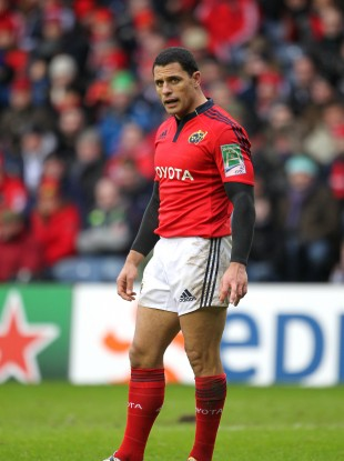 Doug Howlett made over 100 appearances for Munster during a five-year spell towards the latter half of his career.