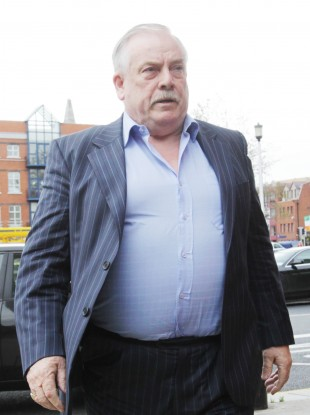 File photo of Thomas McFeely arriving at the High Court in 2011.