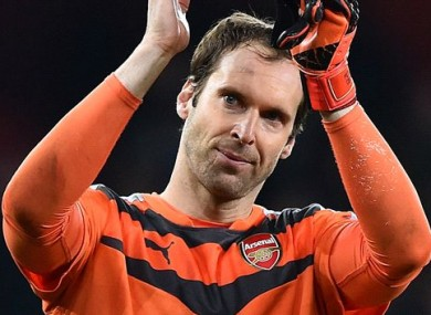 Petr Cech has impressed since signing for Arsenal in the summer.