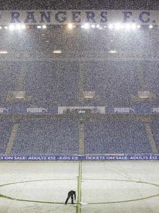 Ibrox in January this year.