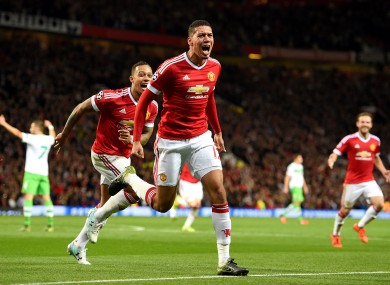 Chris Smalling proved the match-winner for United in the reverse fixture back in September.