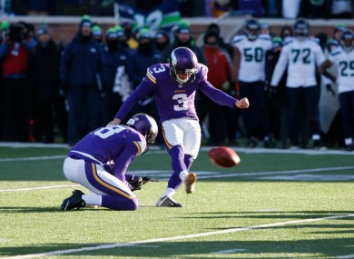 a kicking expert explains what went wrong on the vikings brutal