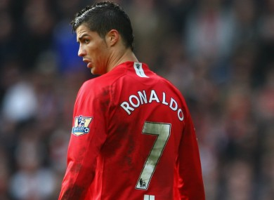 the latest 137a6 72625 Ronaldo: I was petrified about wearing number seven at ...