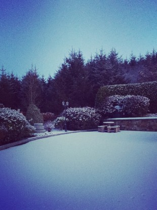 Amy Goodman from Silverbridge outside Dundalk had this view yesterday.