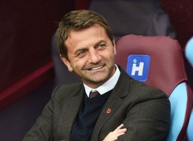 Sherwood has been out of a job since his departure from Aston Villa.
