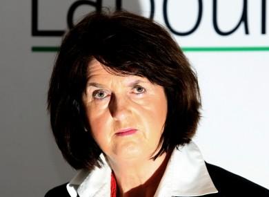 Joan Burton in 2009