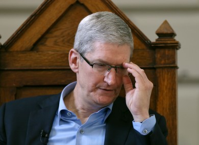Apple CEO Tim Cook published an open letter, describing the order as