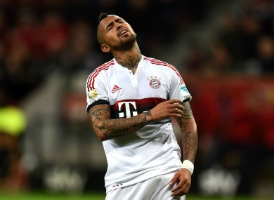 competitive price 0d85f 717a7 Vidal had 'chance to come to England' but chose Bayern ...