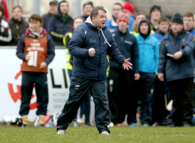 LIT manager Davy Fitzgerald (file photo).