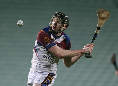 University Limerick's Kevin O'Brien scored two goals this evening.