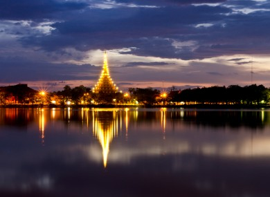 A file photo of the province of Khon Kaen