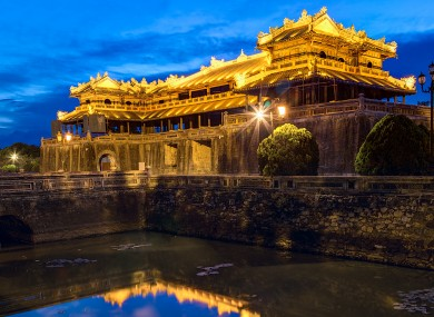 The Imperial Royal Palace of the Nguyen dynasty in Hue