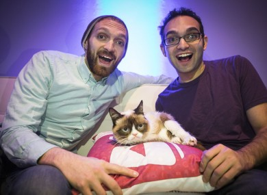 Rafi and Benny Fine are the owners of the Fine Brothers channel, best known for its series of 'react' videos.