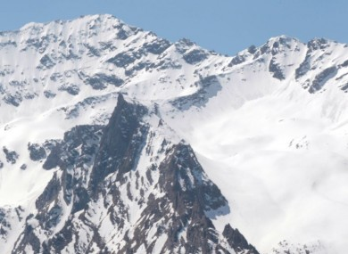 File photo of Italian Alps