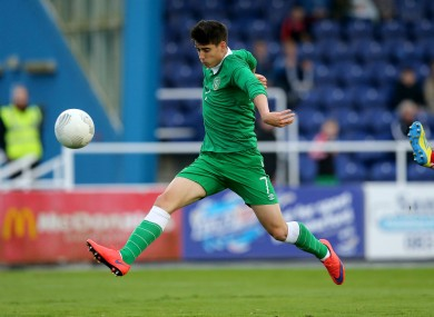 Oxford youngster Callum O'Dowda was on target for Ireland.